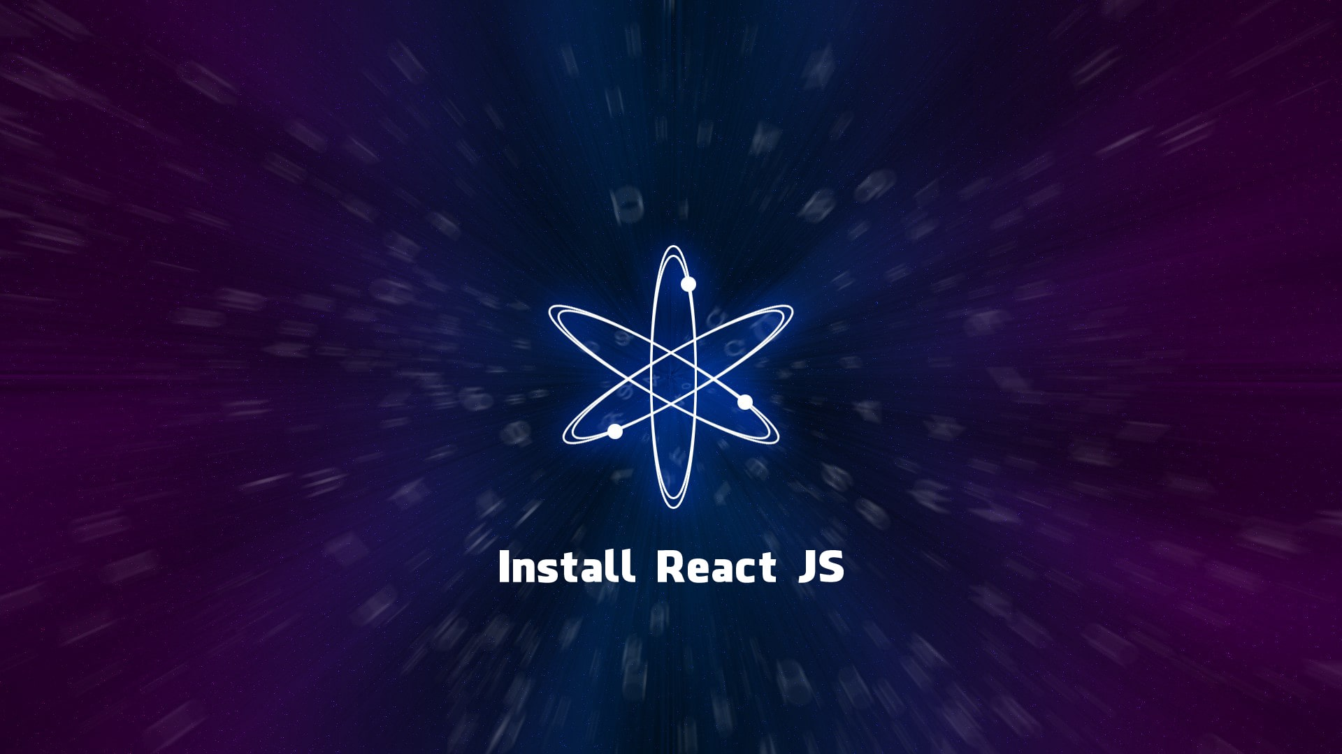The best way to install React JS